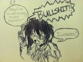 .:Hellsing Abridged Alucard:. by Dawnrie