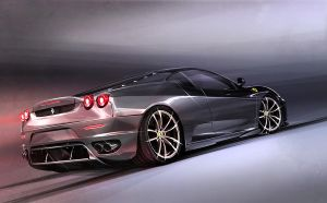 Ferrari F430 Illustration by lockanload