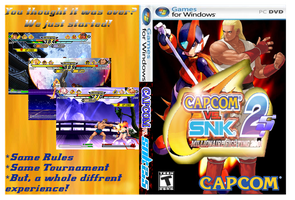 Capcom vs SNK 2.5 cover case by Dante909