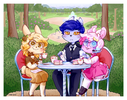 Tea For Three by CuppycakeSprinkles