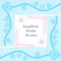 ScrapBook border brushes by spongee0990
