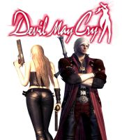 Devil May Cry Dante and Trish by Coltrane87