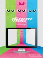 Powerpuff Girls - Wallpaper Pack + FB Cover by umayrr