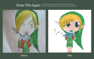 Draw this again contest! link by Freak-of-Games