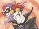 Jack Spicer and Wuya Xiaolin Showdown by ChrisOzFulton