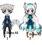 kemonomimi adoptable open AUCTION by Diana-AS