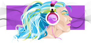 music makes colorful by Jilue