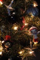 My Christmas Voodoo Dolls by Pi-ray
