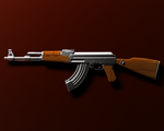 3D AK-47 in Vray by XolotlStudio