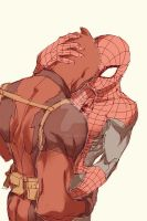Spideypool63 by LKiKAi