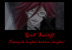 Grell Sutcliff Poster by Lycan-wolf96