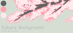 Sakura Background by Misa-pixels
