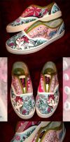 Okami Shoes by Gezusfreek