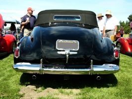 Classic 1941 Cadillac Series 62 Convertible Butt by RoadTripDog