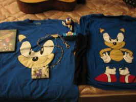 my sonic collection by PunkFromMarz89