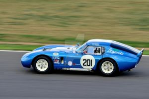 Cobra Daytona Coupe No 201 by Willie-J