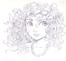 Princess Merida from Brave by bluebrian200x