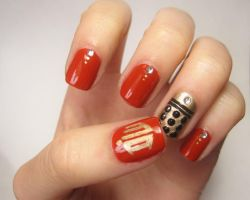 Dalek Nails by complimentarymints