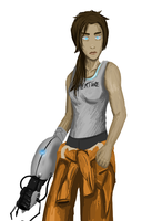 Chell by gabsters109