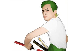 cosplay: ZORO by kamoteQT