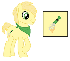 OC: Buttercream 'Butters' by iPandacakes