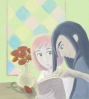 Whatcha Reading? (Tales of Vesperia) by CaliforniaClipper