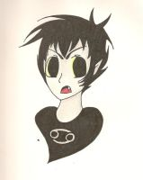 hornless karkat :'P by taya4212