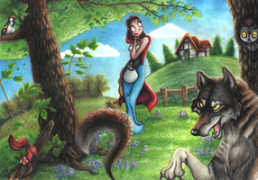 Little Red Riding Hood by Bluepisces97