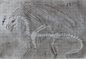 undead dragon by Marl1nde