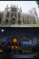 Before and After Darkness Castle by Secr3tDesign
