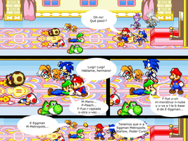 Mario and Sonic CV Chapter 4 Part 11 Spanish by Mazznick