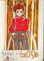 Tales Of Symphonia Lloyd Irving by KumadoriCP9
