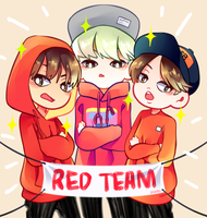 BTS: The Mighty RED TEAM by AukiBiya