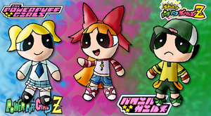 The Powerpuff Girls as... by Quacksquared