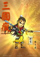 3 kingdoms - Zhao Yun by godfathersky