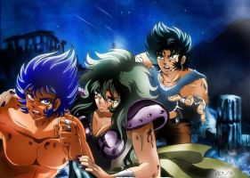 Saint Seiya - Training Time - Final by Iso-pI