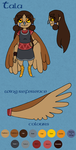Reference sheet: Princess Tala by QueenOfCuttlefishes