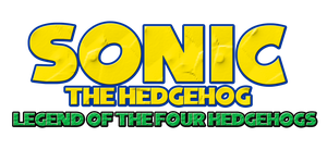 Sonic - Legend of the Four Hedgehogs Logo by KingAsylus91