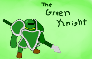 The Green Knight by PikminHensley