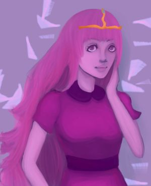 Princess Bubblegum by maRchxhaRe