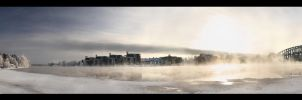Misty_c  River by Behindmyblueeyes