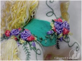 MeadowSweet - Embroidery Detail by LadyLittlefox