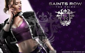 My so-so Saints Row 3 Shaundi Wallpaper by Grey-Knight