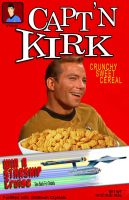 Captain Kirk Cereal by CaptainScratch