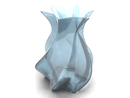 vase - glass with yafray by panzi