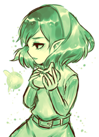 Ocarina of Time -- Saria by onisuu