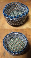 Japanese 12-in-2 basket by SarahTheSlightlyMad