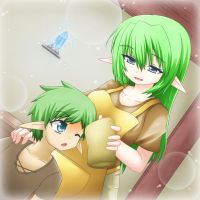 Happy Mother's Day by GreenTeaNeko