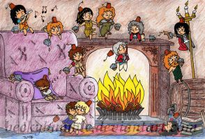 The Party by BeckyBumble
