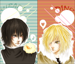 Bookmarks: KHR set01 by Sui-Sui